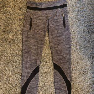 Lululemon size 6 mesh leggings